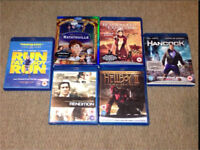 6 Blu Ray DVDs - Excellent Condition