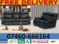 Amy 3 and 2 seater reclining sofa 76 -2823291