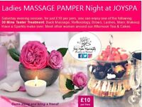 ✿ NEW Ladies MASSAGE PAMPER Night Facial,Mani,Pedi,Brows,Lashes & Afternoon Tea at JOYSPA Newcastle✿