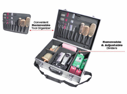 City-Lights-ATC301-Aluminum-Barber-Stylist-tool-case-Lockable-w-strap