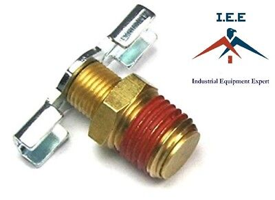 14 Npt Drain Valve Petcock Water For Air Compressor Tank Replacement Part Us