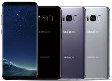 Samsung Galaxy S8 64GB (Verizon / Straight Talk / Unlocked ATT GSM) Black Silver