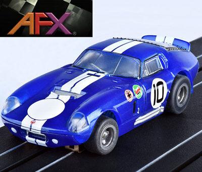 AFX 22001 Cobra Daytona Coupe Bonneville Mega G+ HO Slot Car AFX22001
