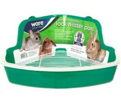 Ware MFG Plastic Scatterless Lock-N-Litter Jumbo Pet Pan- Colors May Vary