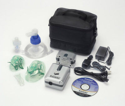 Devilbiss Traveler Portable Nebulizer System Fast Free Shipping 6910p-dr New