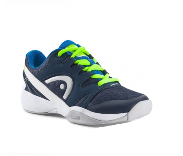 Head Nizzo Carpet - Kinder Hallen-Tennisschuhe - Indoor - blau-weiß - 275907