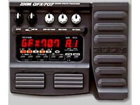 zoom gfx 707 guitar fx