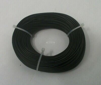 22 Awg Tinned Copper Stranded Hook Up Wire 100 Feet Black Ul1007 Project Wire