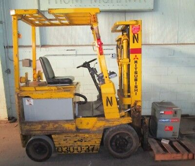 3000 Lb Nyk Fe15c Electric Fork Lift-truck - 28572