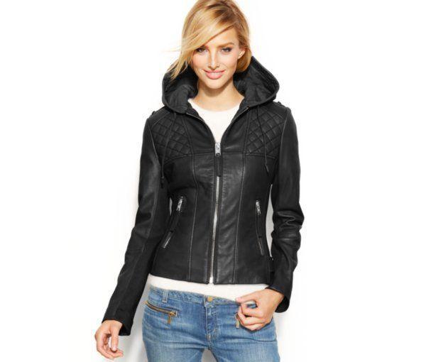 8 Stylish Women's Leather Jackets for the Holidays | eBay
