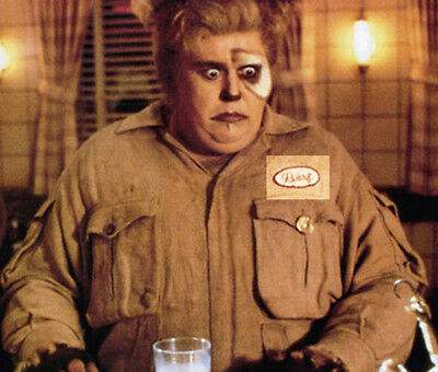 SPACEBALLS BARF THE MOG HALLOWEEN JOHN CANDY COSTUME IRON ON NAME BADGE PATCH