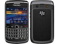blackberry 9700 in black (unlocked) - fully working