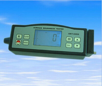 New Srt-6200 Digital Portable Surface Roughness Tester Meter Roughmeter Ra Rzce