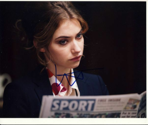 Imogen Poots Autographed Signed 8x10 Photo COA