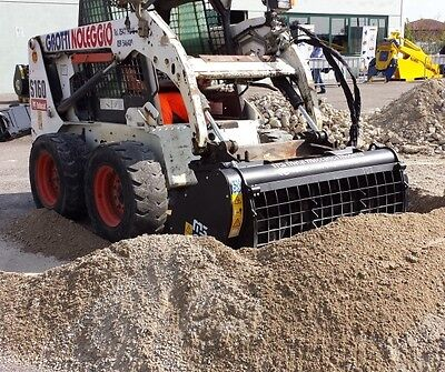 New Skid Steer Cement Mixer Bucket Self Loading-9 Cu.ft
