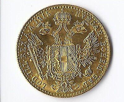 1 Dukat Gold Österreich Verschiedene Jahrgänge Goldmünze 986