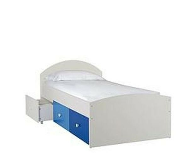 Kids Childrens Bed RRP £189 Kidspace New Metro Low Storage Bed FROM ...