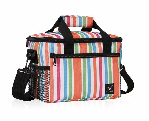 NEW Hynes Eagle Insulated Lunch Bag 10 Can Capacity Cooler B