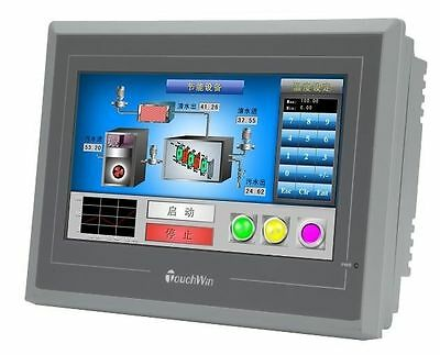 7  Xinje Touch Screen Hmi Te765 Mt 800X480 1Com Usb Program Download Cable