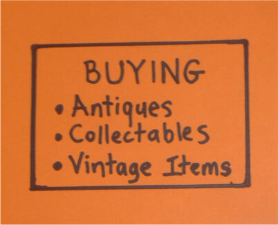 Wanted: Wanted to buy, Antiques & collectables