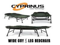 Cyprinus Wide Guy Double Carp 8-leg Bedchair x 2