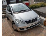 Mercedes 3dr A Class LOW MILES petrol. With MOT