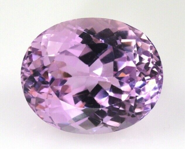 KUNZITE 8 x 6 MM OVAL CUT NATURAL AND UNTREATED