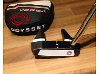 Odyssey Versa 7 Fang Putter - With Superstroke Grip & Headcover