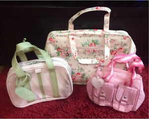 Pink Cosmetic, Makeup, Toiletries, Travel Bags Minto Campbelltown Area Preview