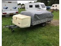 TRIGANO TRAILER TENT COMES WITH EVERYTHING THAT YOU NEED TO GO ON HOLIDAY PLEASE READ FULL ADVERT
