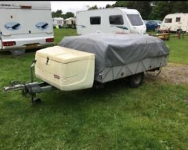 TRIGANO TRAILER TENT IN GOOD CONDITION COMES WITH EVERYTHING YOU NEED TO GO ON HOLIDAY !!!!!