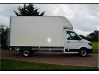 Man with van house removal office commercial moving Ikea eBay pick and drop sofa furniture moving.