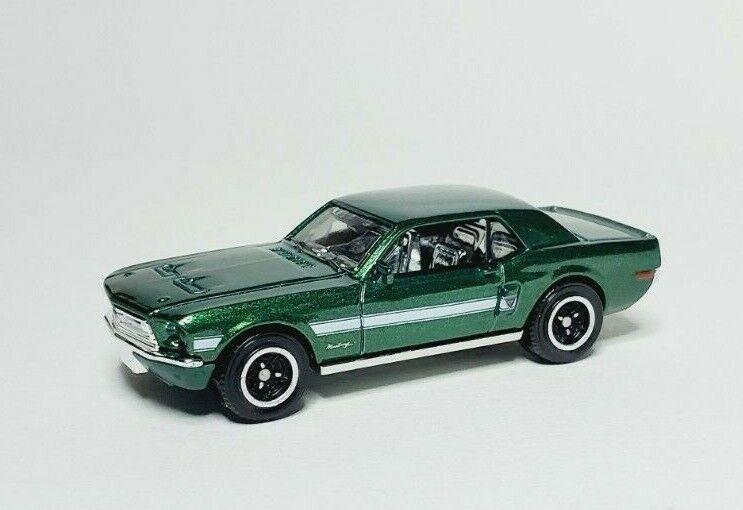 2020 MATCHBOX 68 FORD MUSTANG GT CS GREEN LOOSE  - $0.99