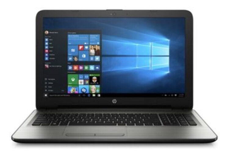 HP 15.6 Inch Laptop AMD Quad Core 2.4 Ghz / 8GB / 2TB Laptop - Brand New Sealed-SILVER