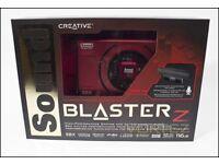 Creative sound blaster z pice sound card