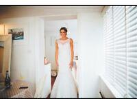 Beautiful Stella York Wedding Dress (size 8-10)