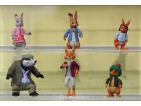 ISO Peter Rabbit and friends figures