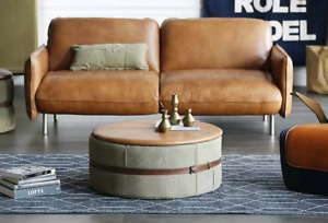 Stylegarage Upcycled Army Roll Ottoman / Table