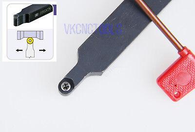SRDPN1616H10(16mm*100mm)lathe External Turning Tool Holder RPMT10T3MOE inserts
