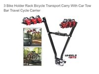 3 bike cycle carrier tow ball mount brand new never used
