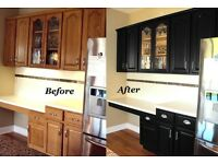 Kitchens sprayed fresh look