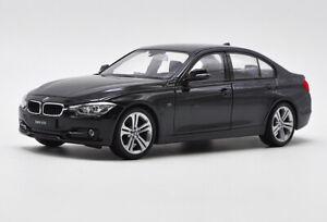 Welly-1-24-BMW-F30-335i-Black-Diecast-Model-Car-Vehicle-New-in-Box