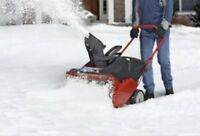 Snow Removal Job