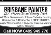 Painter and decorators Annerley Brisbane South West Preview