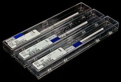 Lot 3 Northrop Grumman 4mm X 166mm High Power Dpss Crystal Pump Ndyag Laser Rod