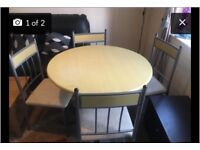 Dining table with 4Chairs £30 ONO