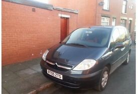 For sale or swap newer shape Citroen c8 7 seater 2.0 ,12 mont mot start n drive good part ex welcome
