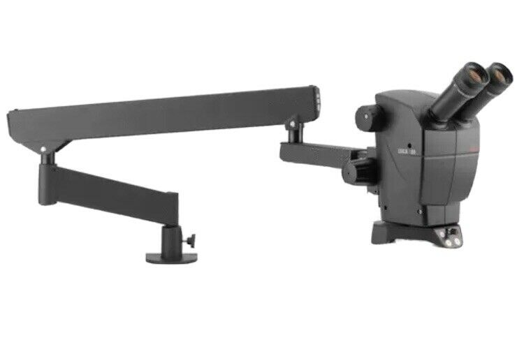 Leica a60 Microscope With Flex Arm Stand