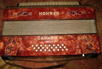Hohner Carmen ll Accordian, Yamaha Trumpet