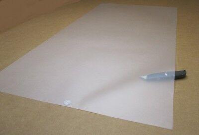 Polycarbonate Sheets 1 Side Matte Translucent Hazy .005 X 24 X 48 4 Units